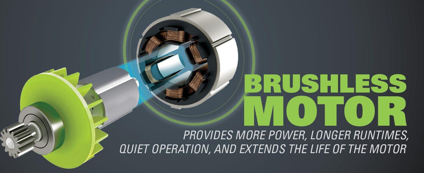 brushless 80v motor power torque