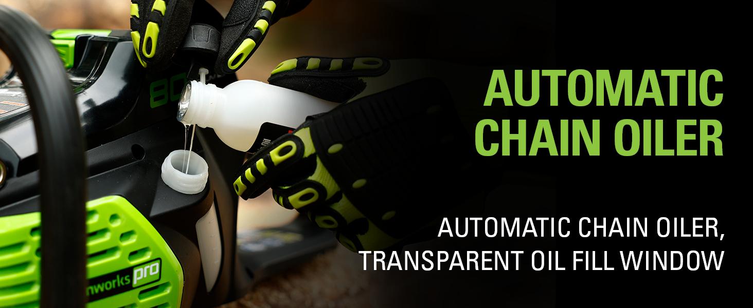 Automatic Chain Oiler