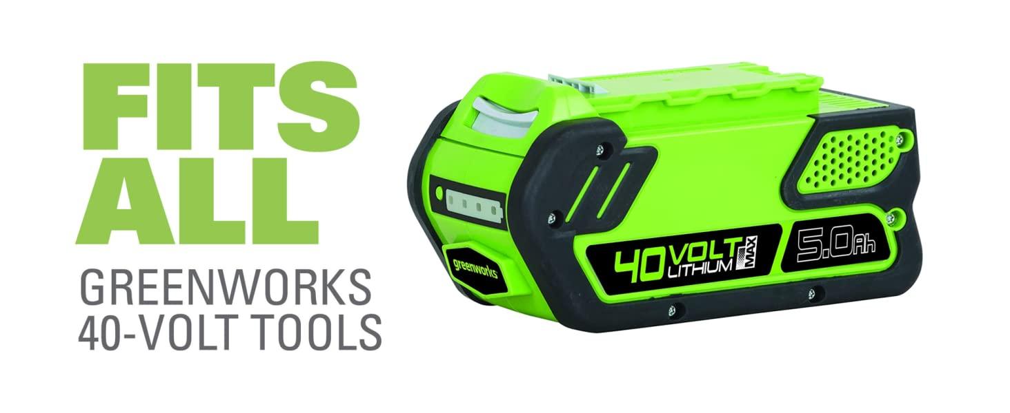 fits all greenworks 40v tools