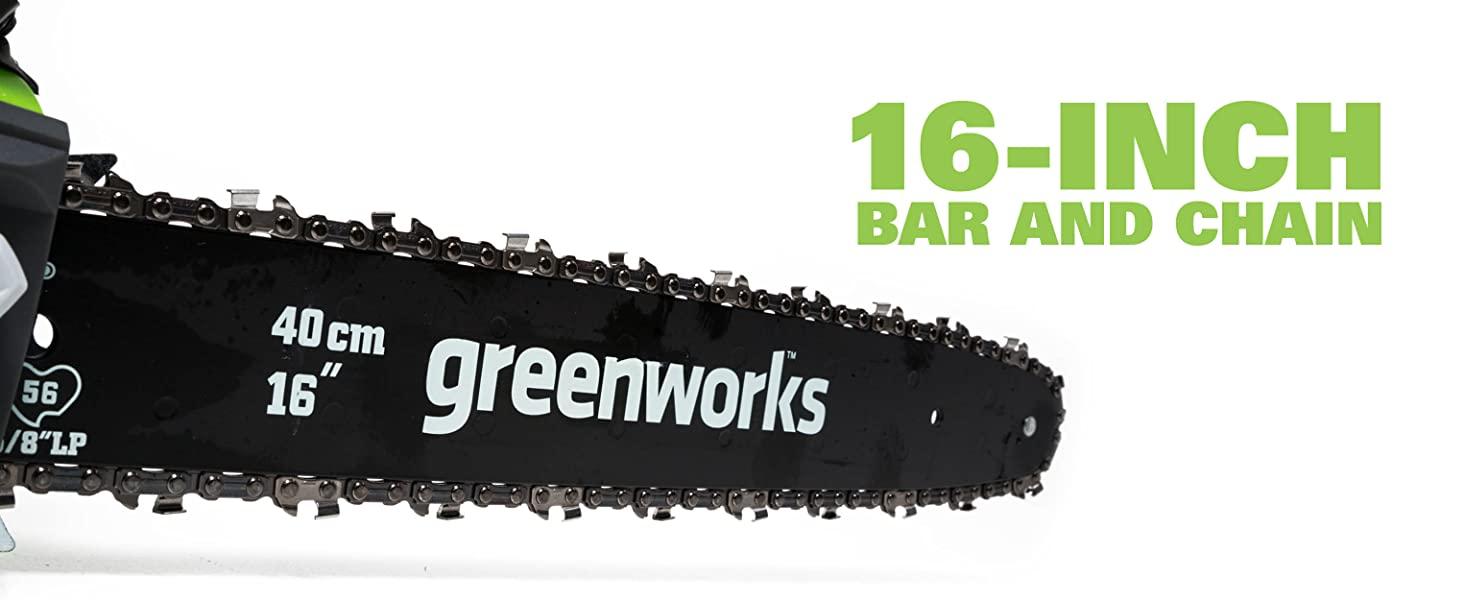 16 Inch Bar and Chain