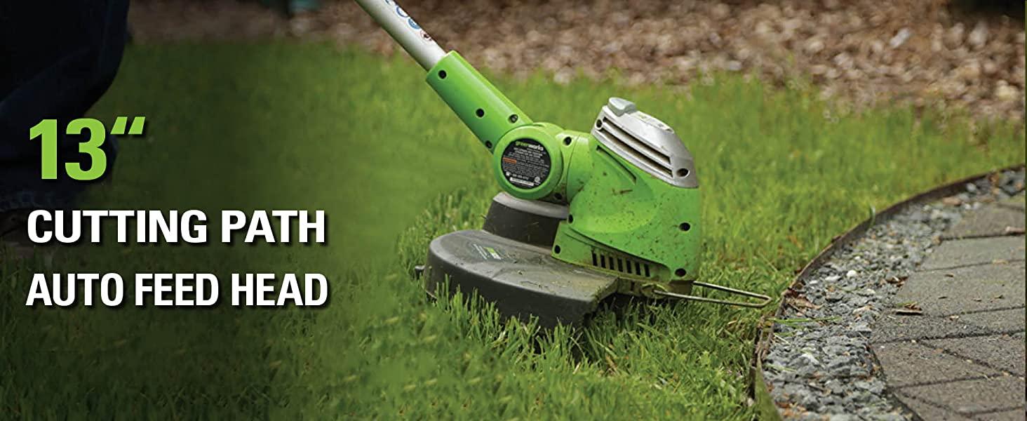 13 inch cutting path auto feed head