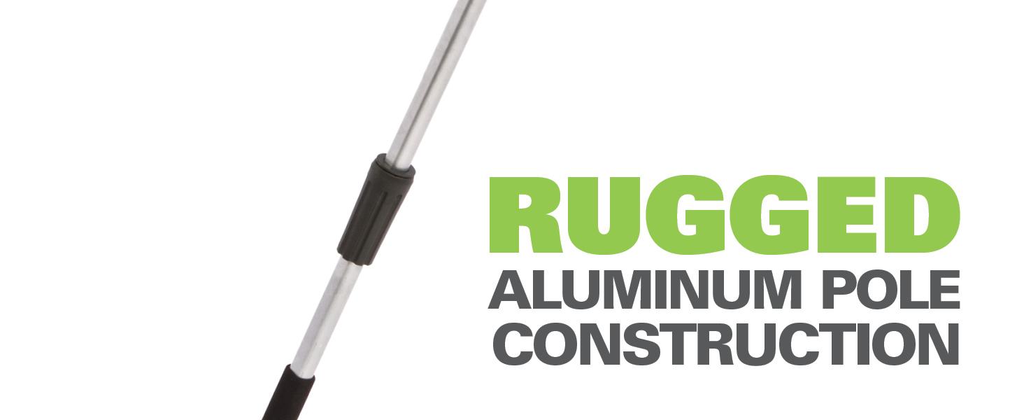 Rugged Aluminum Pole Construction