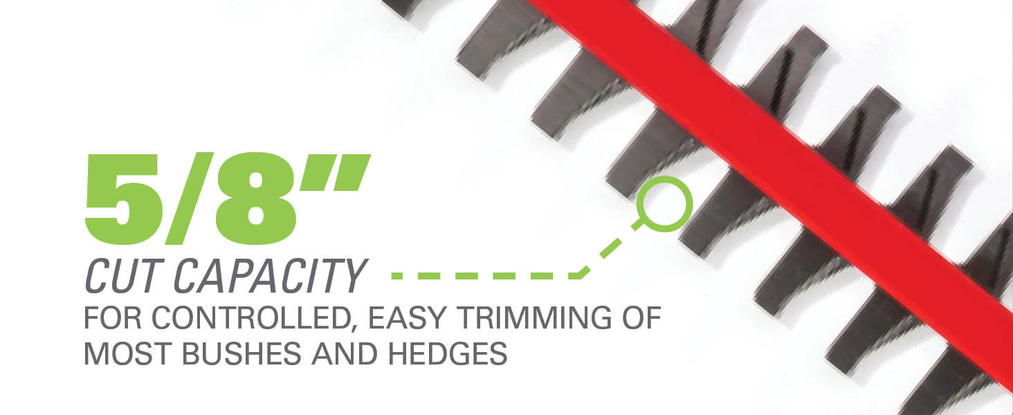 5/8 Inch Cut Capacity