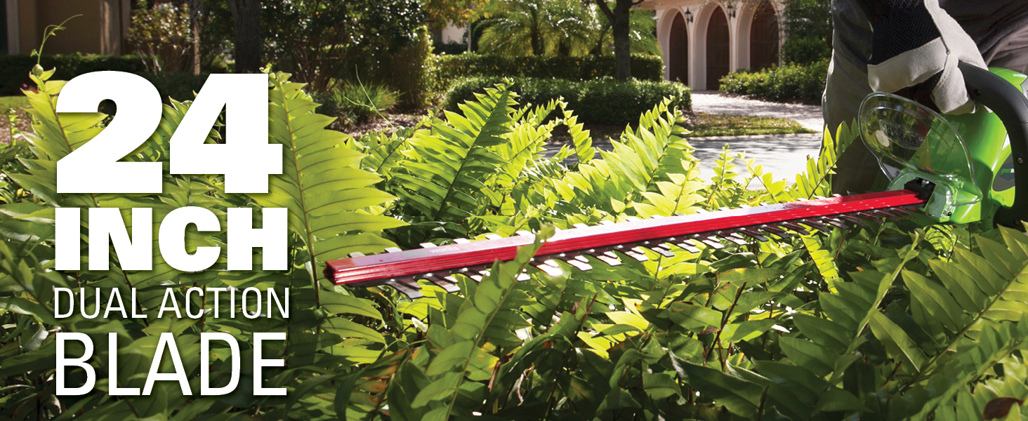 24 inch dual action blade
