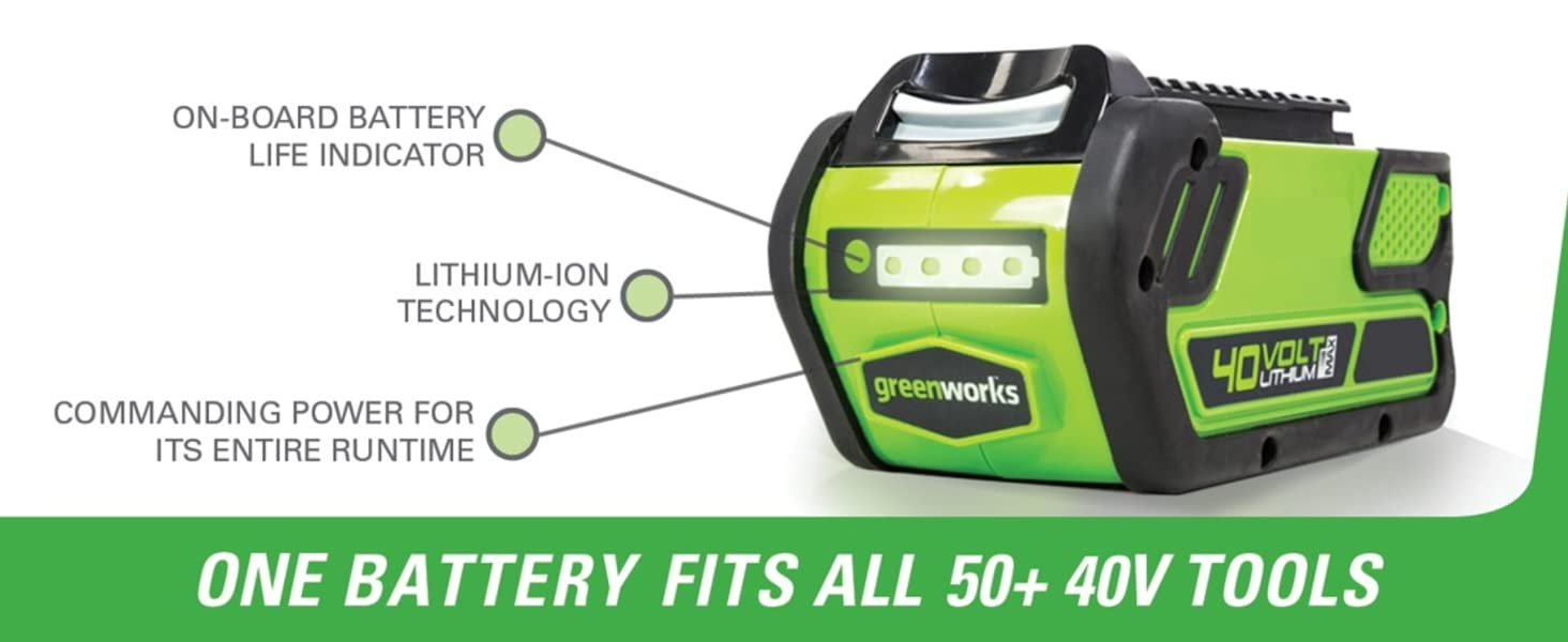 40V Battery breakdown