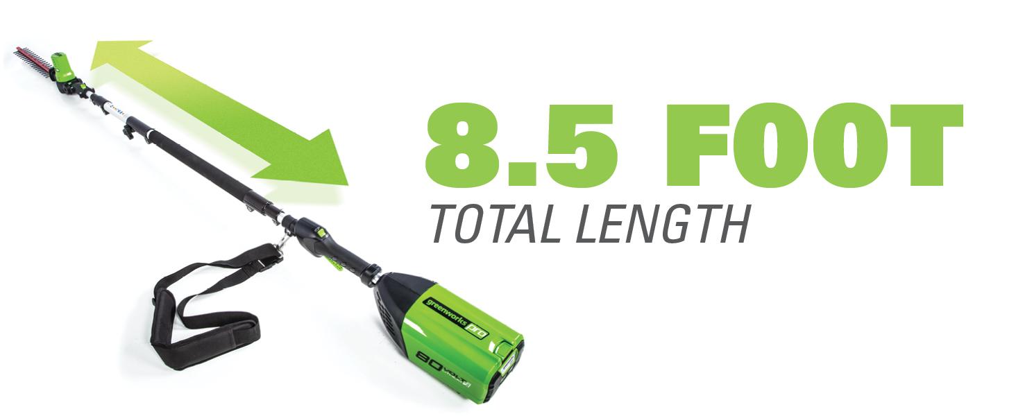 8.5 foot reach  extension