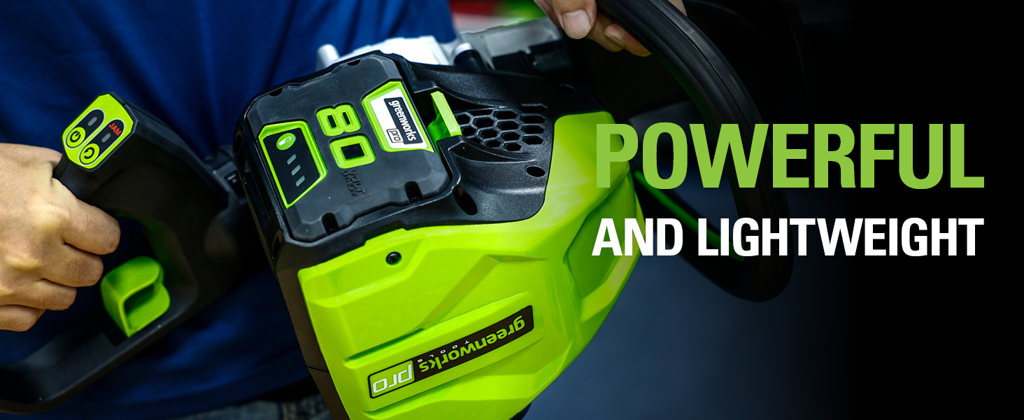 powerful and lightweight battery