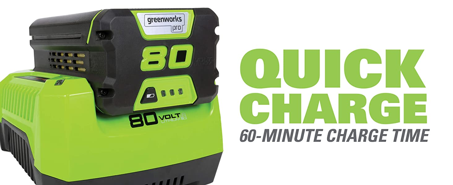 quick charge 60-minutes