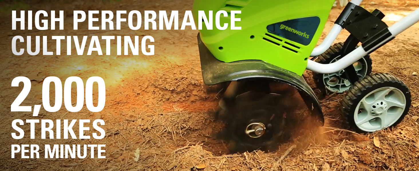high performance cultivating 2000 strikes per minute