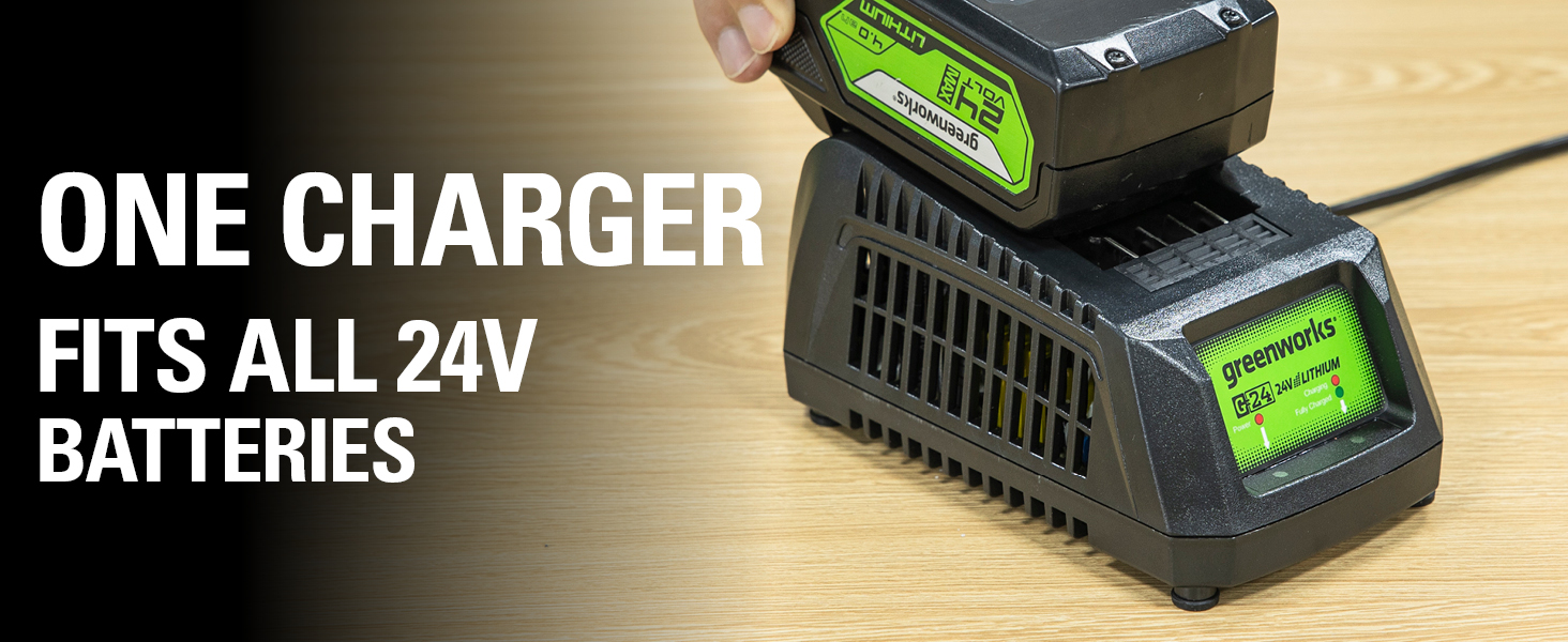 one charger fits all 24v batteries
