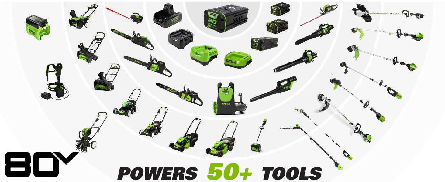 greenworks 80v power tools