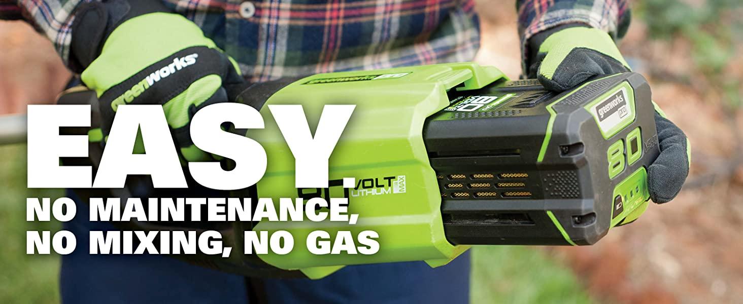 no maintenance no gas