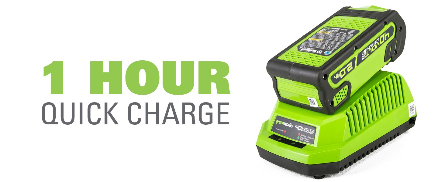 1 hour charge time