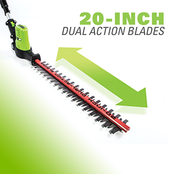 Dual Action Blades