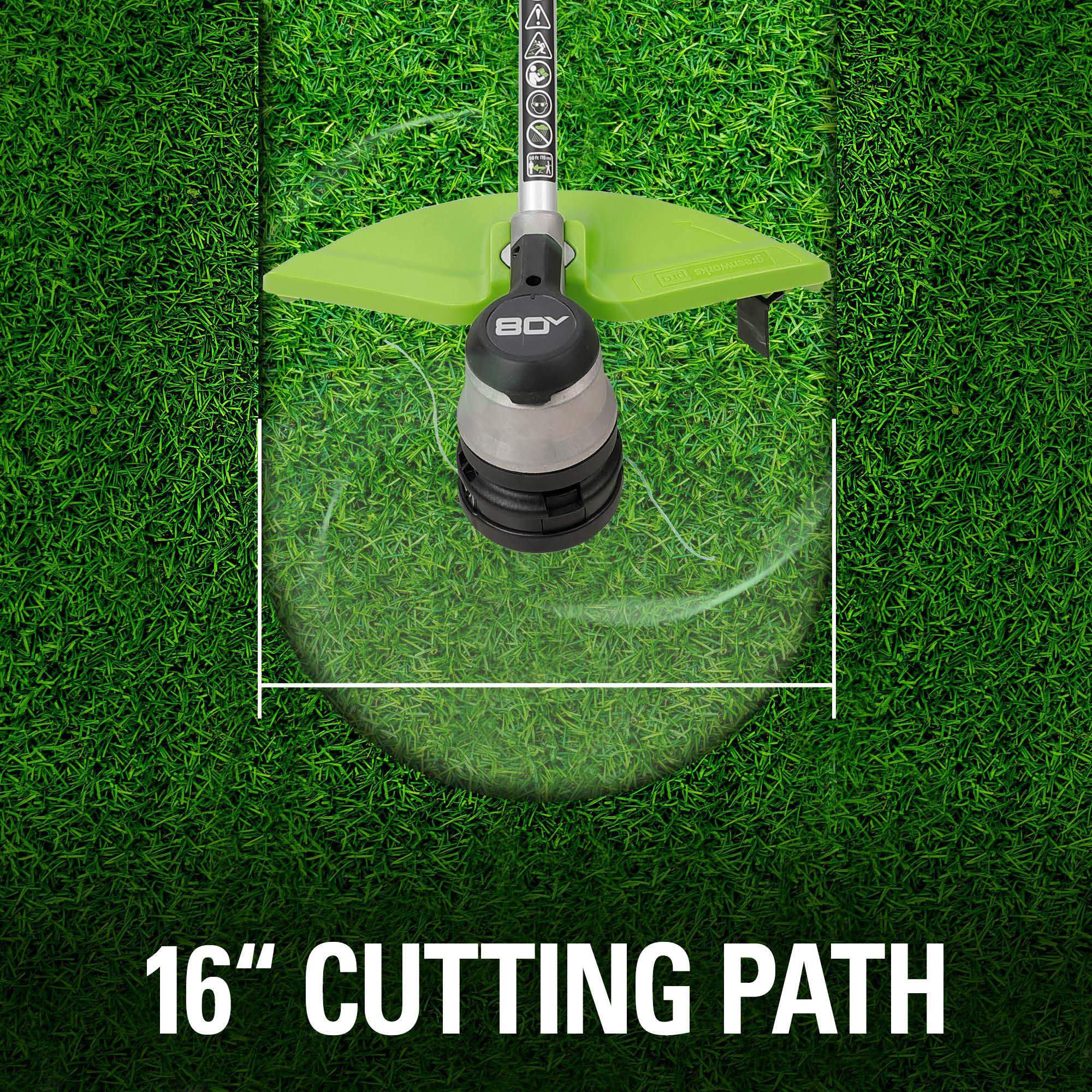 Cutting swatch path 16 inch