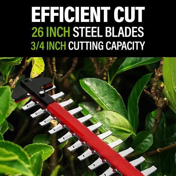 Efficient Cut 26 Inch Steel Blade