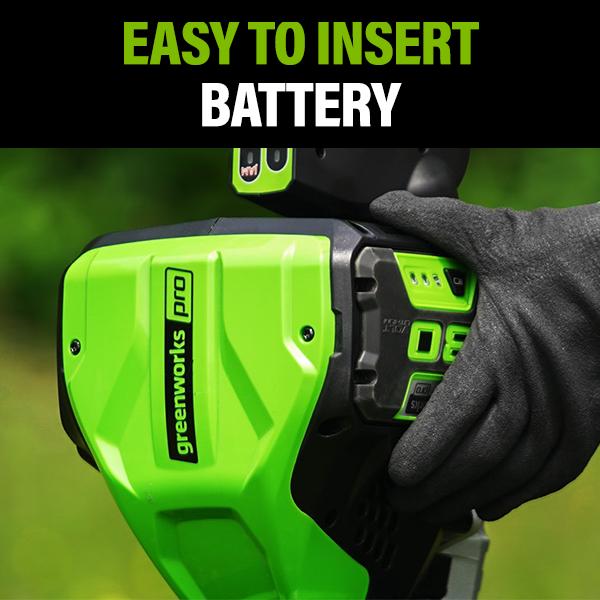 Easy to Insert Battery