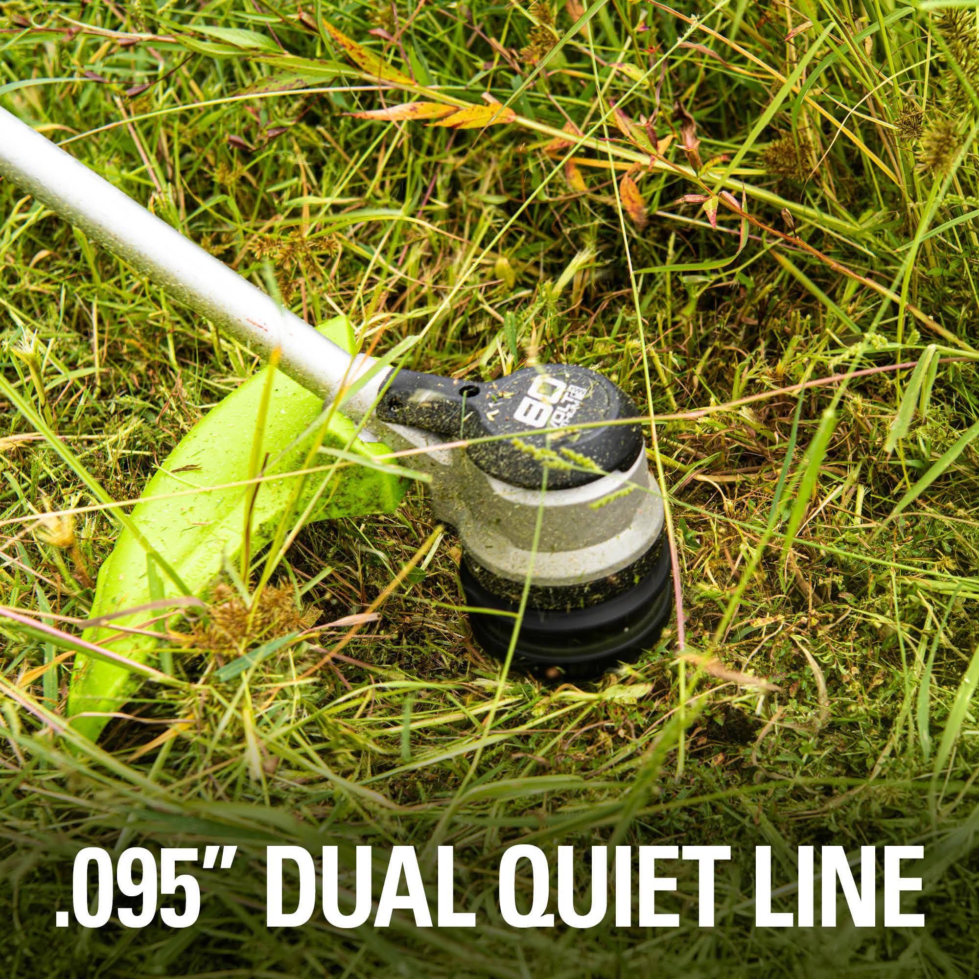 0.095 inch dual line