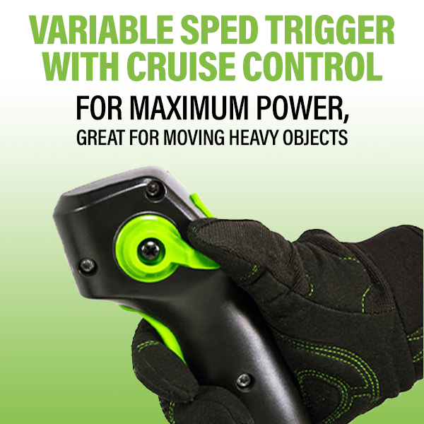 Variable Speed Trigger Cruise Control