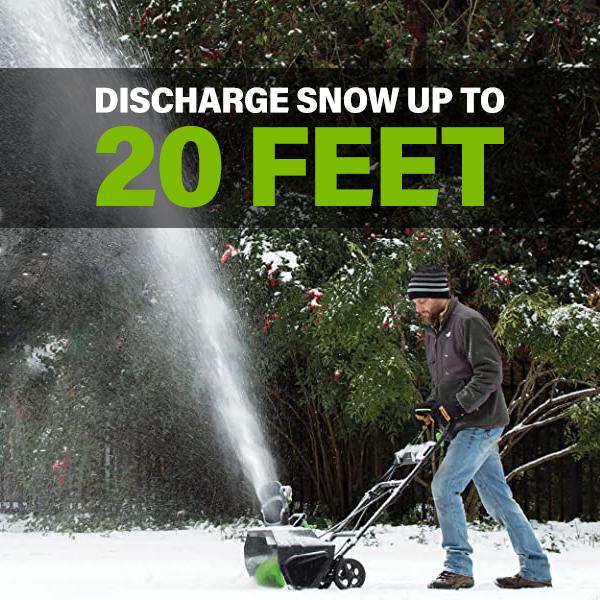 20 Feet Discharge