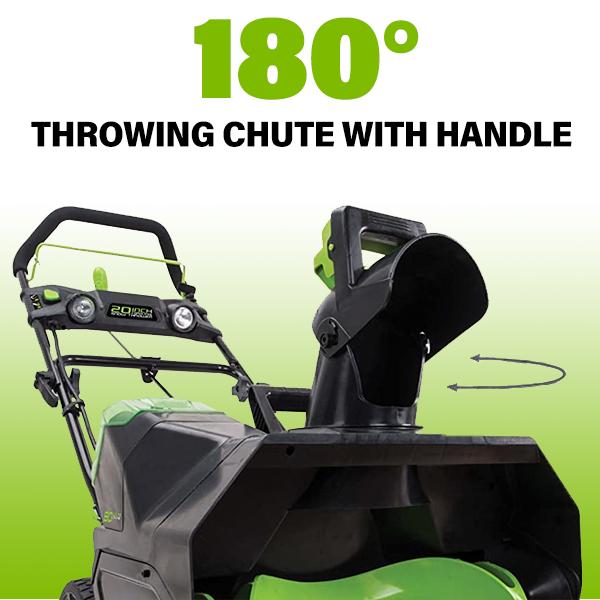 180 Degree Throwing Chute