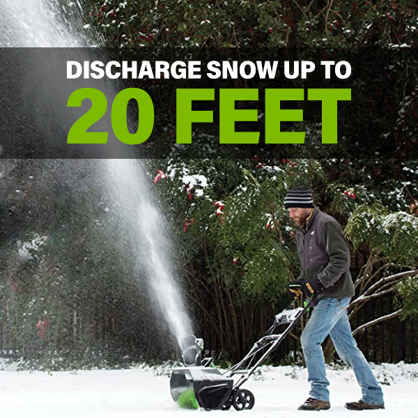 Discharge Snow Up To 20 Feet