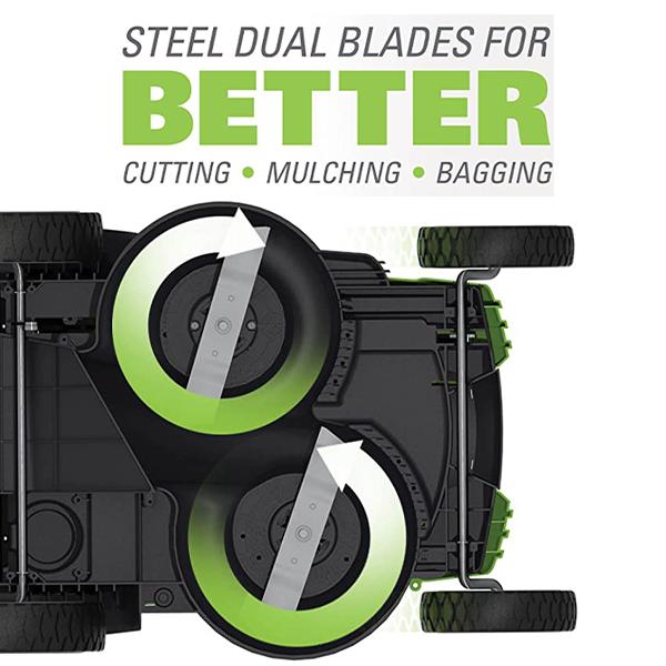 Dual Steel Blades