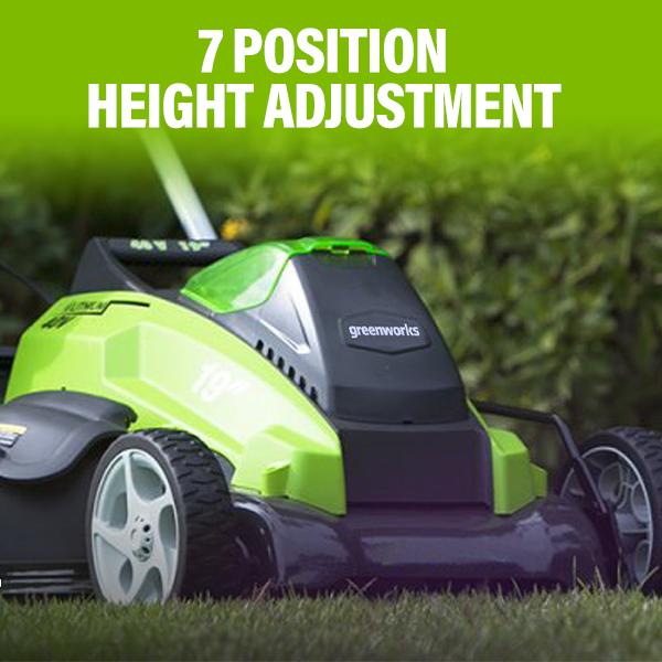 7 Position Height Adjustment