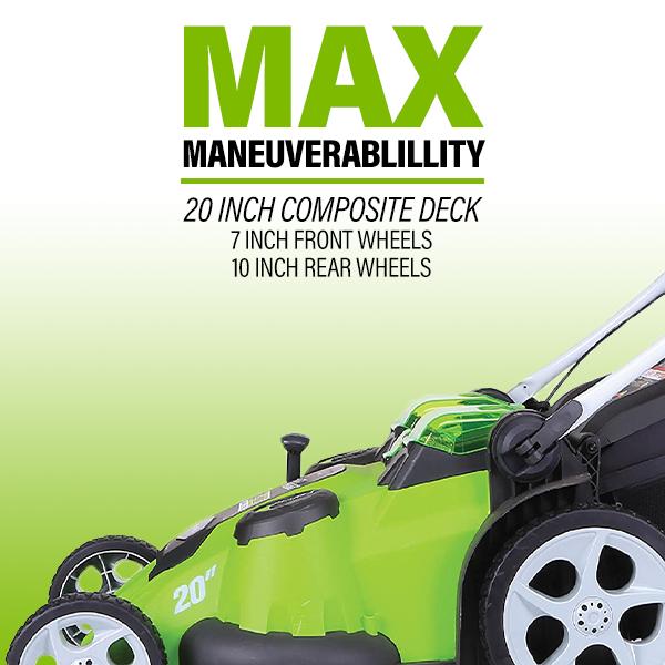 Max Maneuverability
