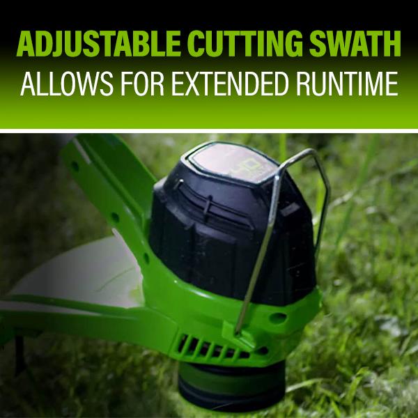 Adjustable Cutting Swath