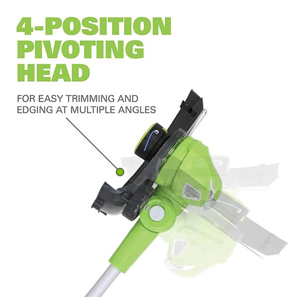 4 Position Pivot Head