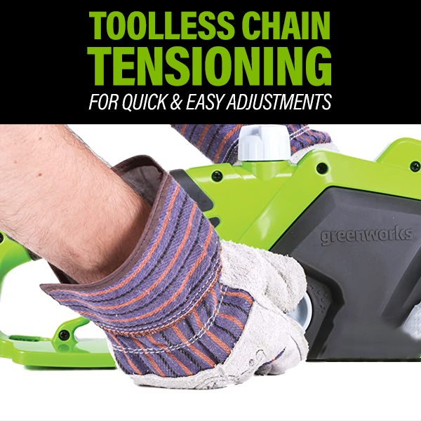 Toolless Chain Tension