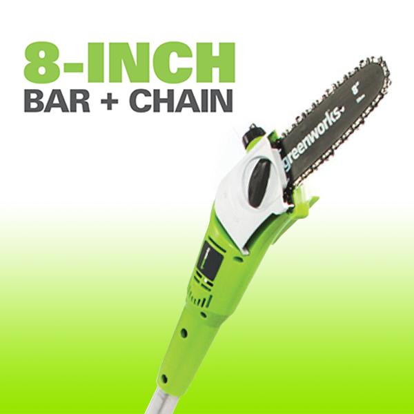 8 Inch Bar & Chain