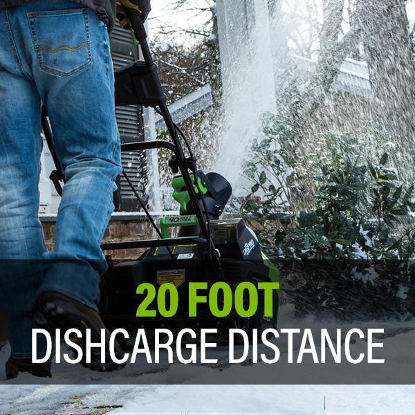 20 Foot Discharge Distance