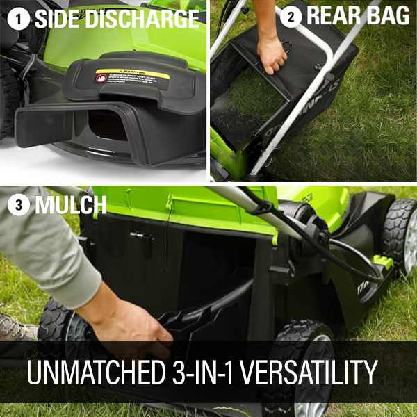 Mulch, Bag or Discharge