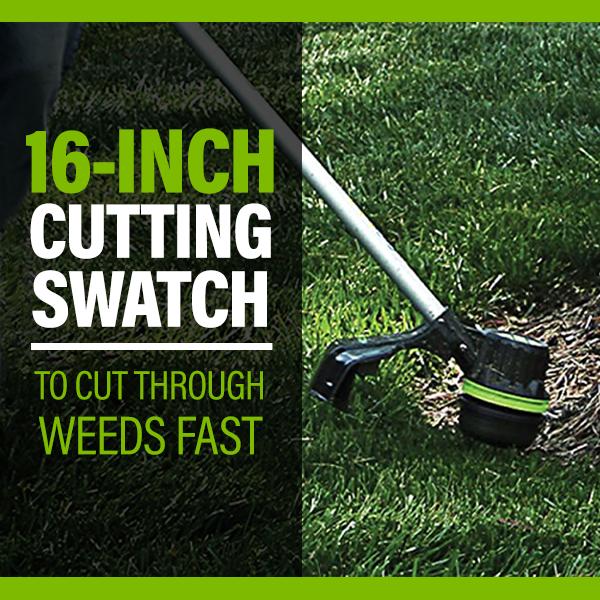 16-Inch Cutting Swath